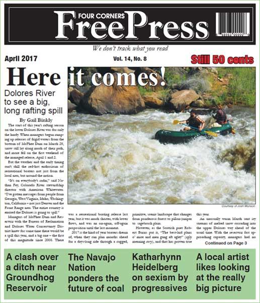FOUR CORNERS FREE PRESS APRIL 2017