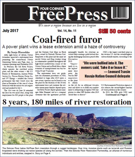 FOUR CORNERS FREE PRESS JULY 2017