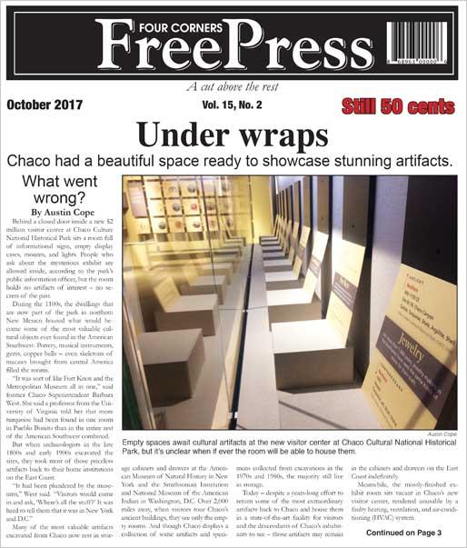 FOUR CORNERS FREE PRESS OCTOBER 2017