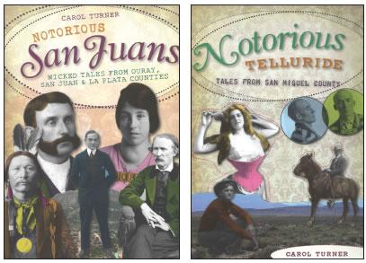 CAROL TURNERS' WILD WEST BOOKS