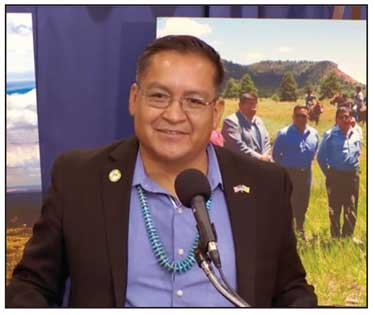 BEARS EARS INTER-TRIBAL COALITION CO-CHAIR ALFRED LOMAHQUAHU