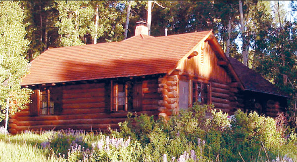 ASPEN GUARD STATION NEAR MANCOS, COLORADO