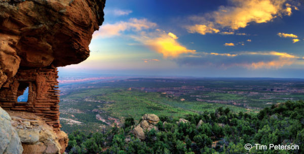 BEARS EARS ABOVE CEDAR MESA AND COMB RIDGE