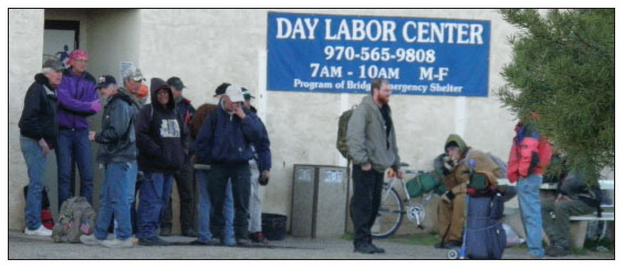 DAY LABOR CENTER IN CORTEZ, COLORADO
