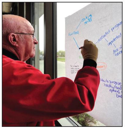 COMMISSION LAMBERT PARTICIPATES IN COMMUNITY HEALTH ASSESSMENT