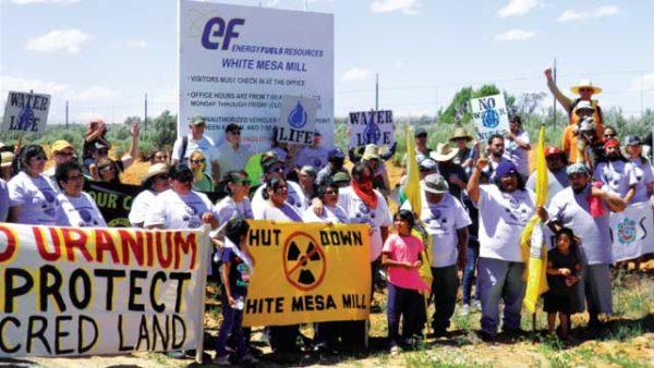 WHITE MESA URANIUM MILL PROTEST