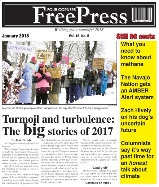 FOUR CORNERS FREE PRESS JANUARY 2018