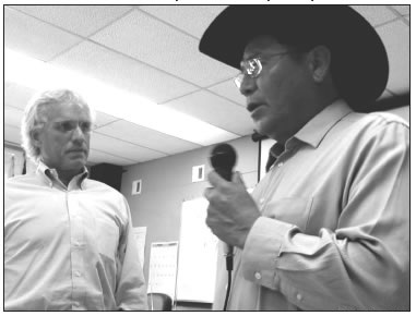 JOSEPH KENNEDY, JR. AND ED SINGER SPEAKING IN ARIZONA ON DECEMBER 11