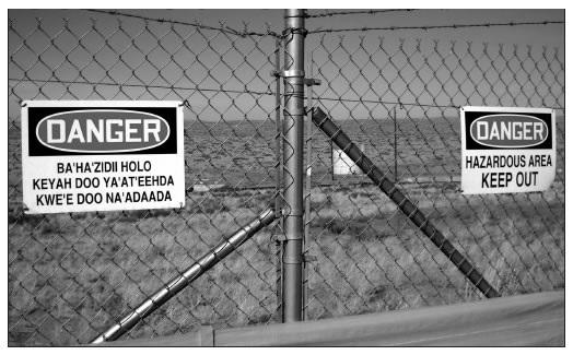 GATED AREA AROUND SITE 160