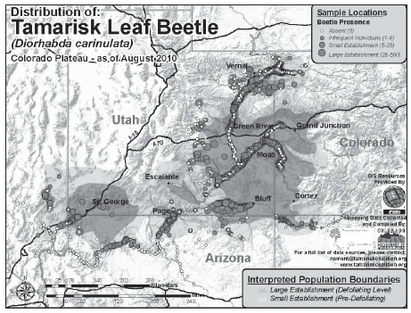 MAP OF COLORADO PLATEAU