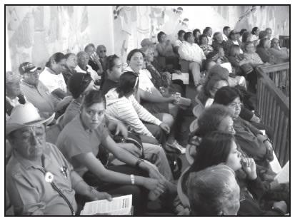 NAVAJO COUNCIL MEETING AT WINDOW ROCK