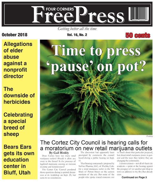 FOUR CORNERS FREE PRESS OCTOBER 2018