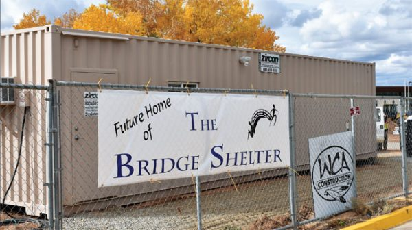 The Bridge Shelter in Cortez is building a new facility on Empire Street to provide overnight housing for the homeless, but it won't be open for use this season.