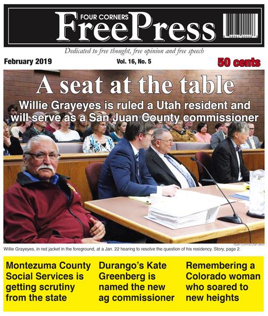 FOUR CORNERS FREE PRESS FEBRUARY 2019