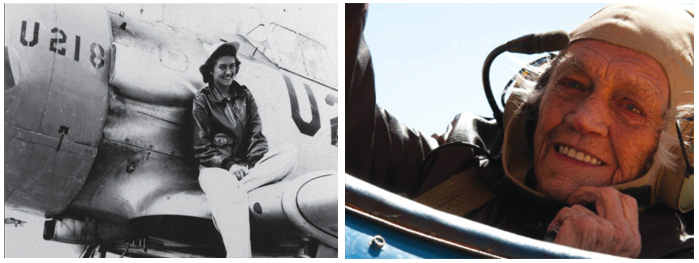 Colorado's Millicent Young, who was among the first female pilots in World War II, died at 96 on Jan. 15, 2019.