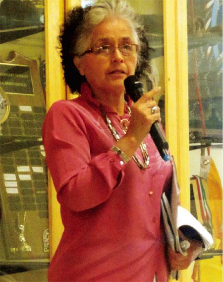 Be'ekid Hóteelí Grass-root Organization President Bess Tsosie
