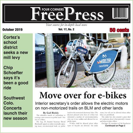 FOUR CORNERS FREE PRESS OCTOBER 2019