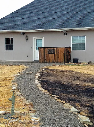 After the Ridge Subdivision fire last November, it was very apparent how the seemingly small steps of weed whacking around a building and adding some gravel can change the outcome of a fastmoving wildfire.