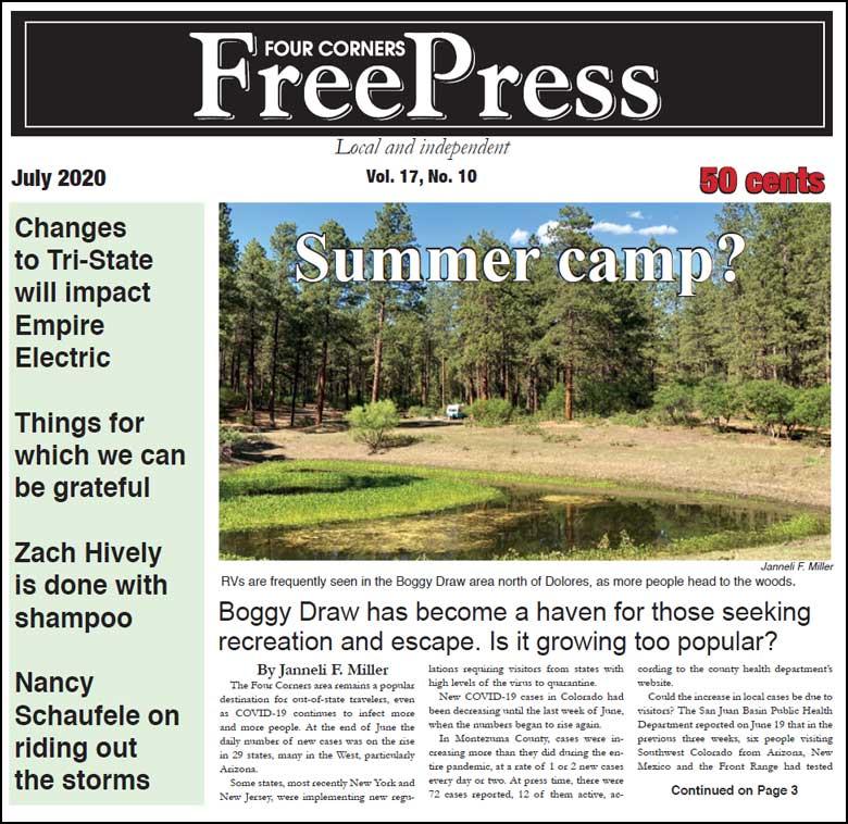 FOUR CORNERS FREE PRESS JULY 2020