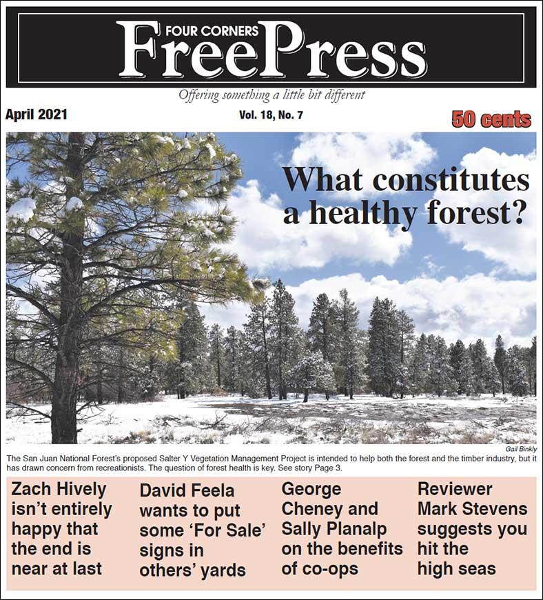 FOUR CORNERS FREE PRESS APRIL 2021